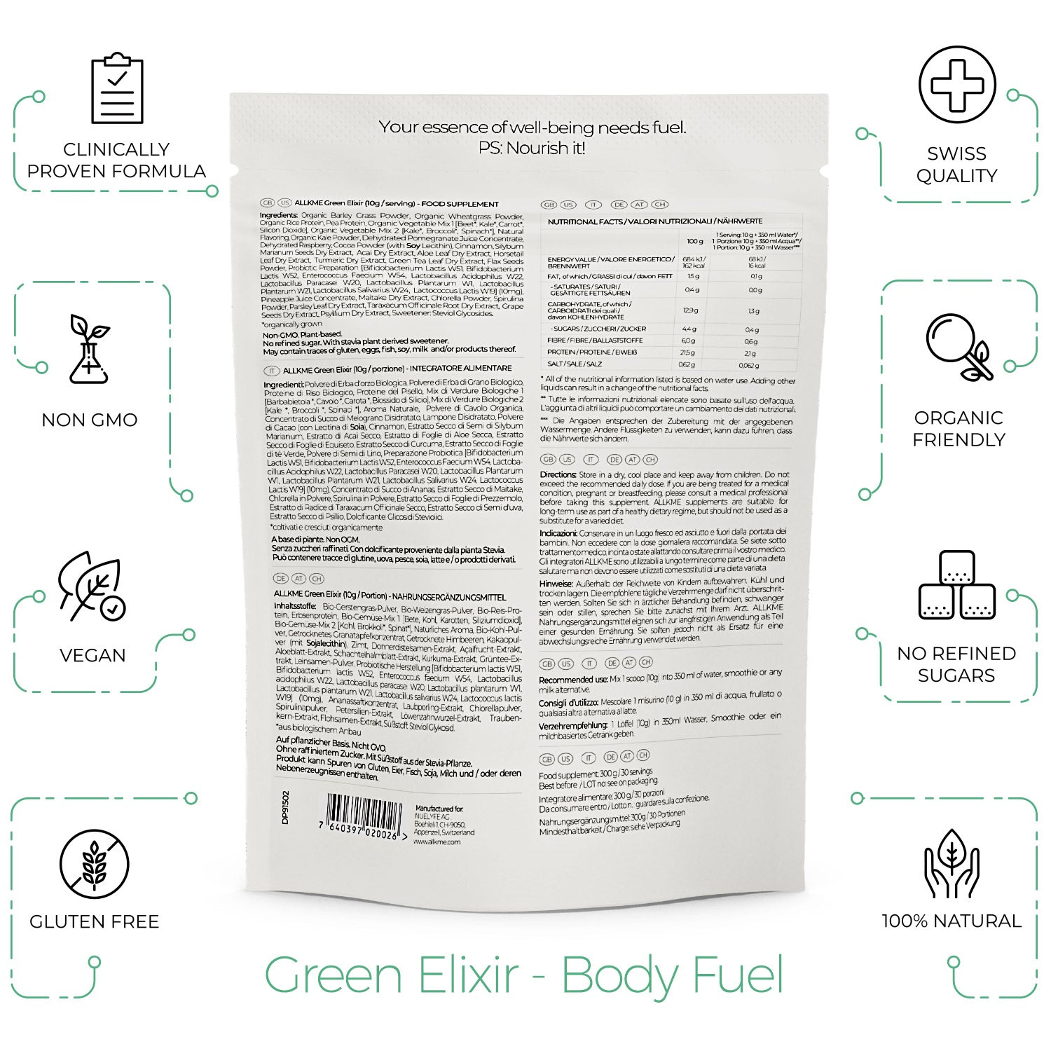 Green Elixir - Body Fuel