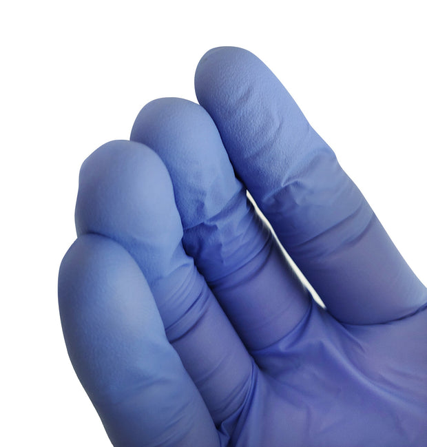 1000 Klex Nitrile Exam Gloves - Medical Grade, Powder Free, Latex Rubber Free, Disposable, Food Safe, Lavender M Medium
