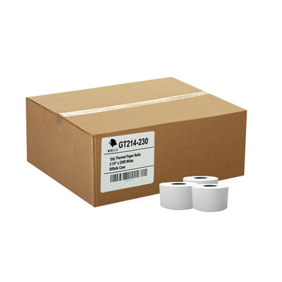 (50) 2-1/4 x 230' Cash Register Thermal Paper Rolls