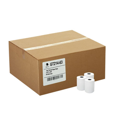 (50) Thermal Paper Rolls 2-1/4 X 63 Ingenico ICT 200 220 250 FD400 Vx520
