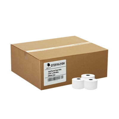 (24) Pay-At-Pump 2-5/16 x 210' Thermal Paper Rolls Gas Station