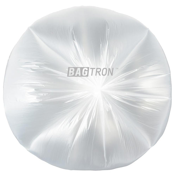 "Bagtron Clear 2000 Can Liners 20"" x 22"" 3-7 gallon 6 micron Pure HDPE"