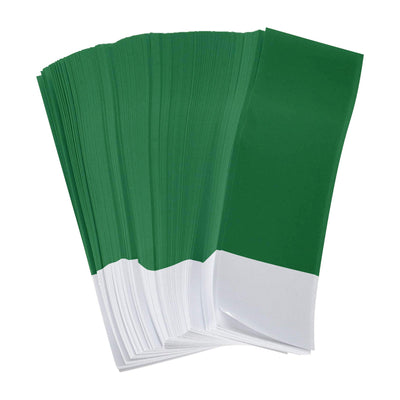 "Gorilla Supply Green Napkin Bands 1.5"" x 4.25"" (Pack of 2500)"
