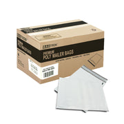"1000 Bagtron #0 Poly Mailer Bags 6"" x 9"" Shipping Envelopes Grey 2mil"