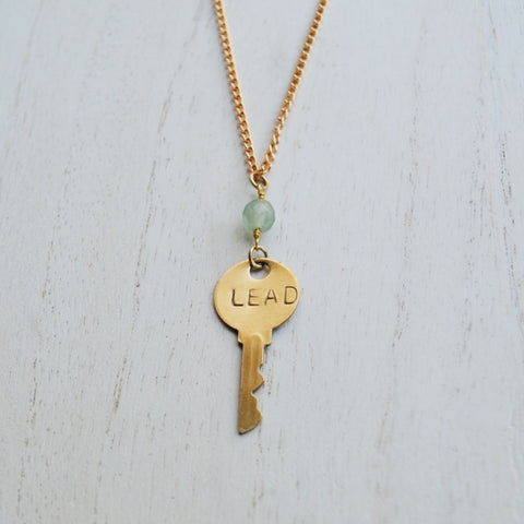 Key to You Necklace: Lead