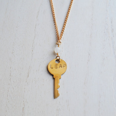 Key to You Necklace: Leap