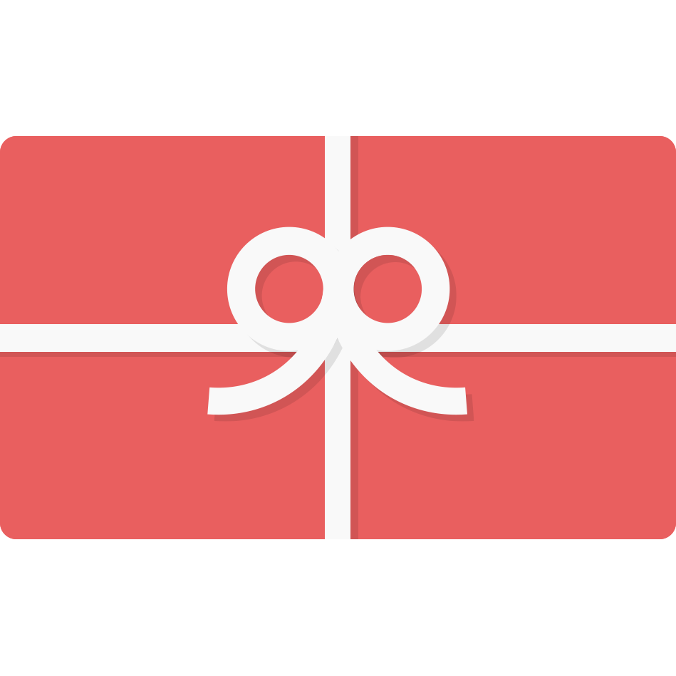 Gift Cards in 50.00 denominations from $100.00 USD - $500.00 USD