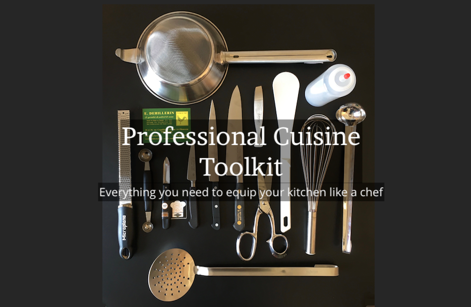 Professional French Cuisine Toolkit