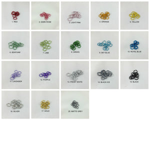 Chainmaille Color Options