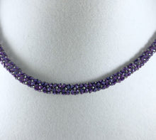 Load image into Gallery viewer, Chenille Stitch Beaded Necklace