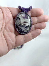 Load image into Gallery viewer, Beaded Cabochon Pendant
