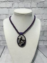 Load image into Gallery viewer, Banded Amethyst Pendant