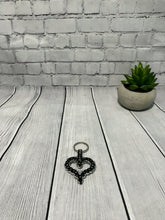 Load image into Gallery viewer, Chainmaille Heart Key Chain