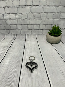 Chainmaille Heart Key Chain