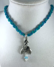 Load image into Gallery viewer, Pewter Dolphin Pendant