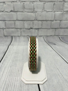 Twin Bead Peyote Stitch