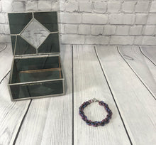 Load image into Gallery viewer, Purple Chain Bracelet