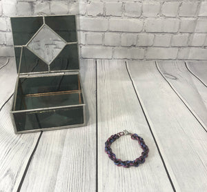Purple Chain Bracelet