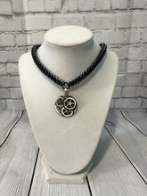 Load image into Gallery viewer, Gear Pendant on Aluminum Chainmaille Necklace