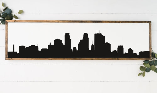 City Skyline - 8 x 24 (Workshop Project)