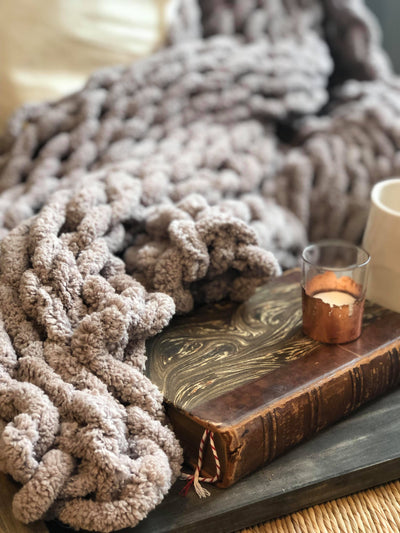 Chunky Chenille Throw