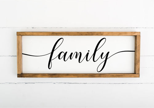 Family 8 x 24 - (Workshop Project)