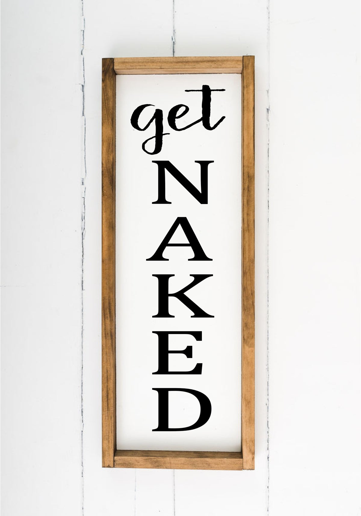 Get Naked - 8 x 24 (Workshop Project)