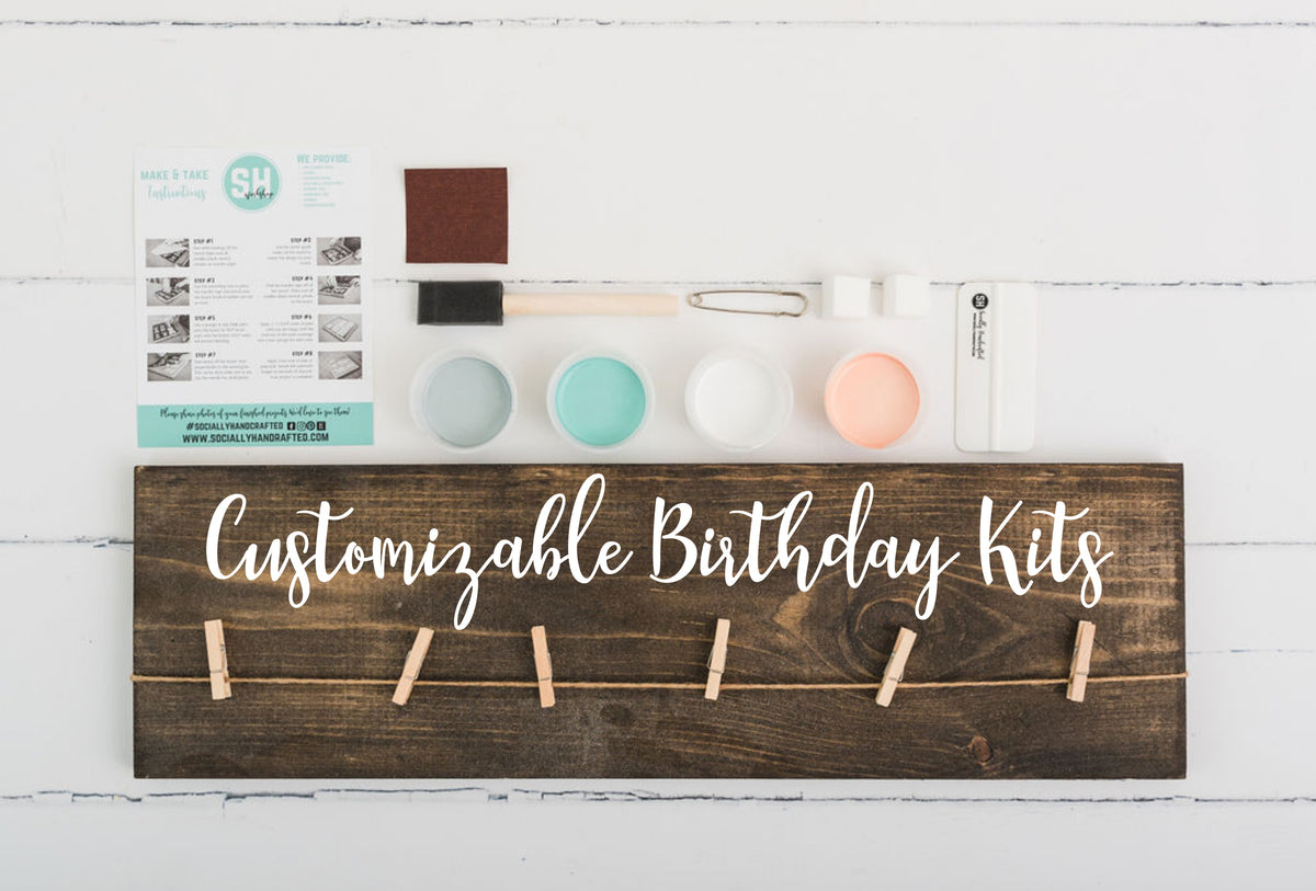 Photoboard - Customizable Birthday Kit