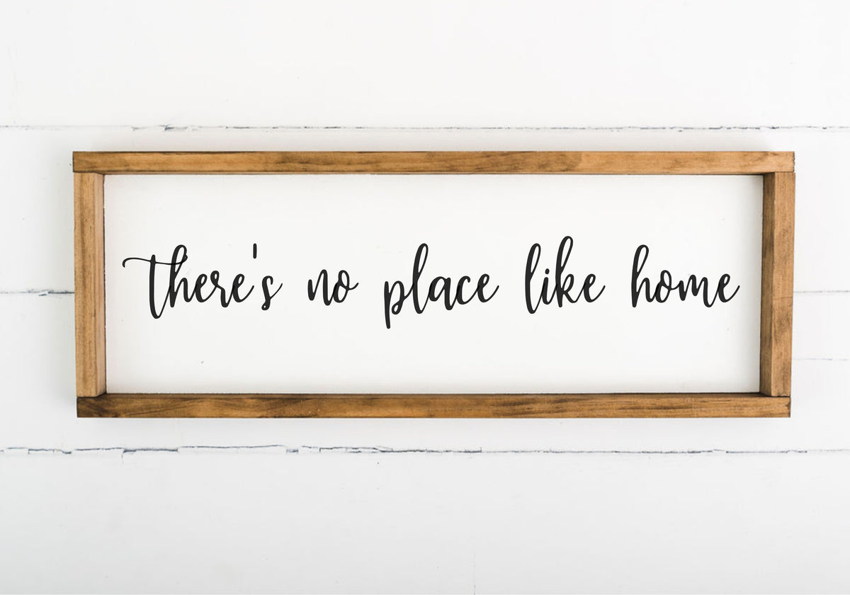There's No Place Like Home - 8 x 24 (Workshop Project)