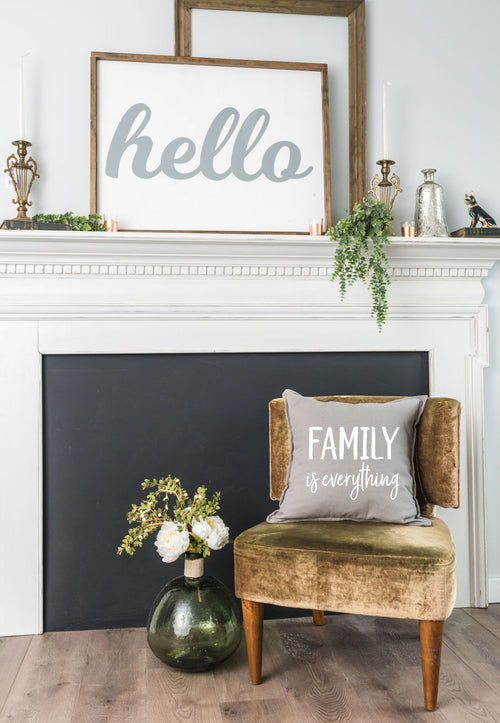 Family Is Everything Pillow Cover