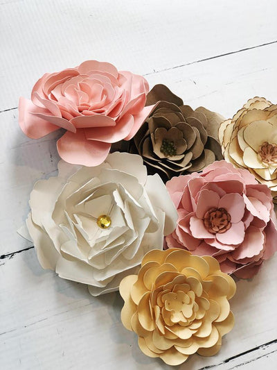 Spring Paper Flowers + Sign Events
