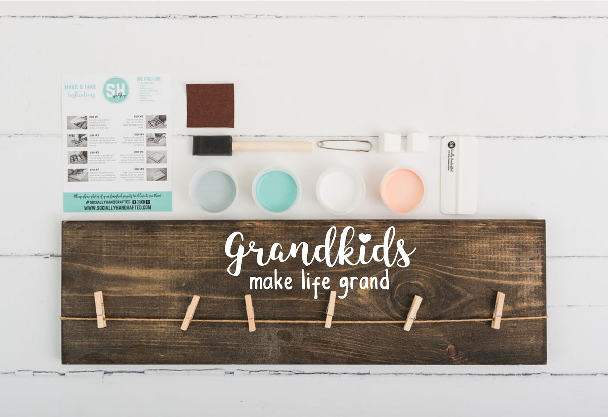 Grandkids Make Life Grand (Workshop Only)