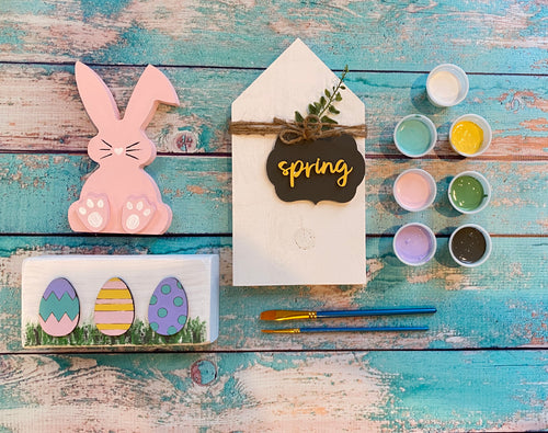 Spring Create at Home Kit