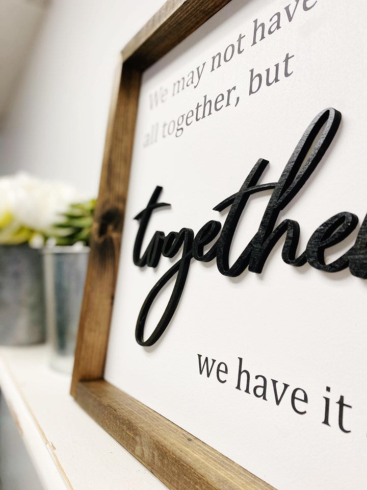 DIY Kit: Together we have it all 12x12