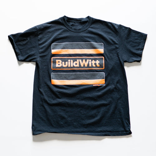 Hi-Viz Stealth BuildWitt Shirt - SafetyShirtz