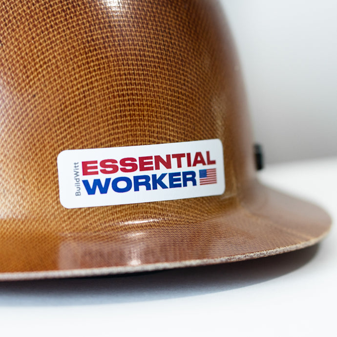 Essential Worker Decal - Color