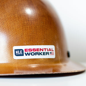 KLE Essential Worker Decal - Color