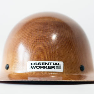 Essential Worker Decal - Black