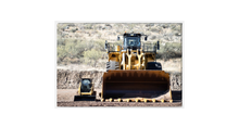 Load image into Gallery viewer, Caterpillar 259 Skid Steer vs. 994K Loader Canvas Print