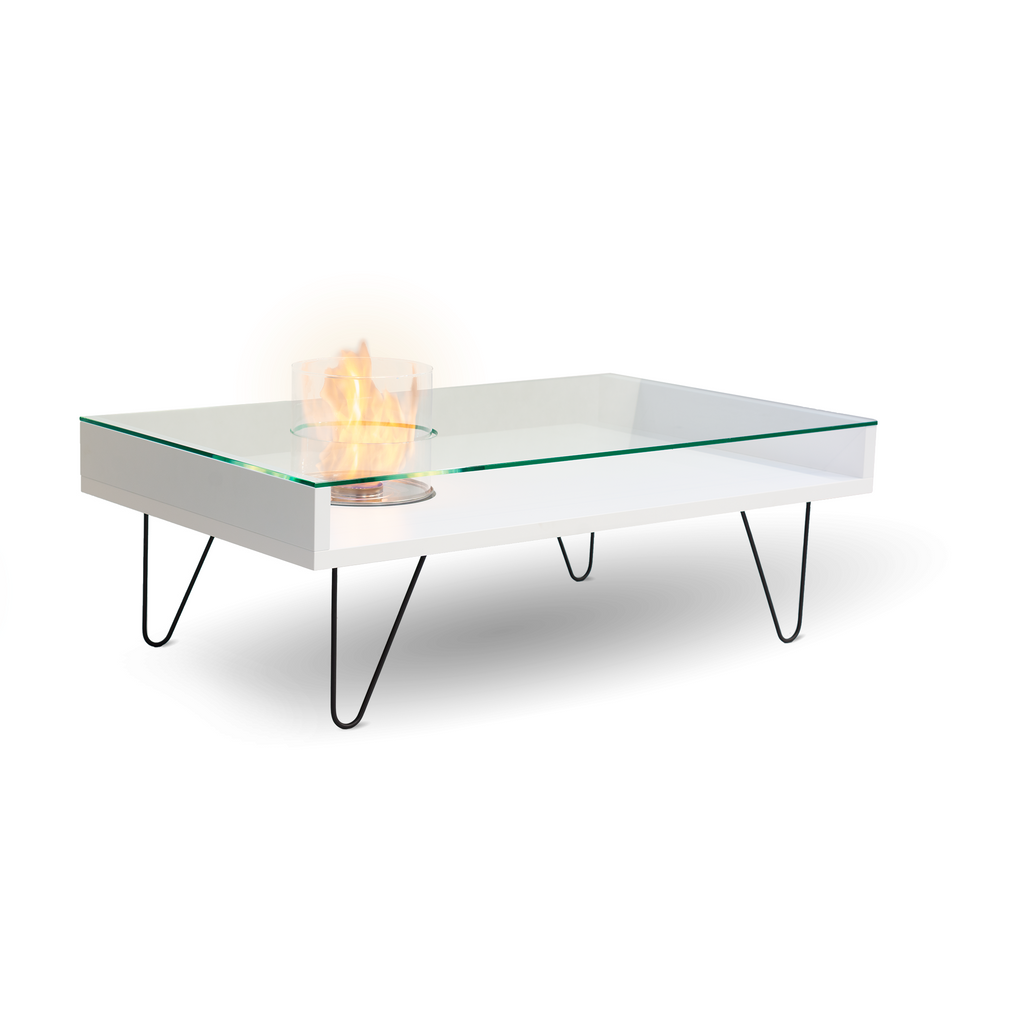 VOLCANO FIRE COFFEE TABLE