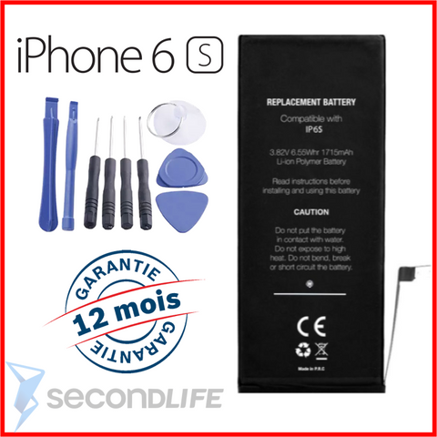 Batterie pour iPhone 6S - 1715 mAh