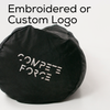 Embroidered logo or custom logo 2 Man worm