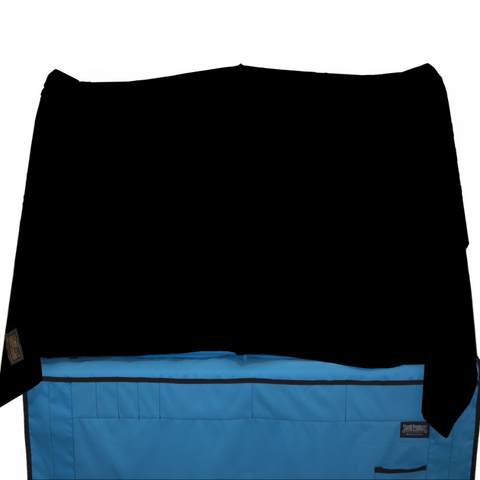 EZ-Drape Shelter Cover in Microfiber in Black