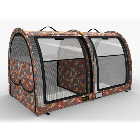 LE Pop-Up Kennel - Show Shelter Medium, Double, Split Doors