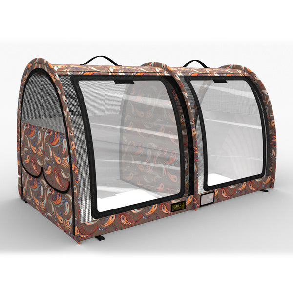 LE Pop-Up Kennel - Show Shelter Medium, Double, Vinyl Doors