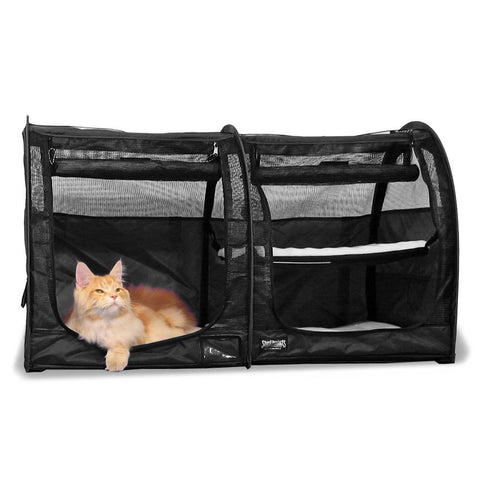 Double Show Shelter with Mesh Doors -  - Sturdi Products - 1