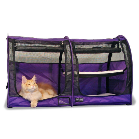 Pop-Up Kennel - Show Shelter Medium, Double, Mesh Doors
