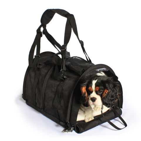 Large SturdiBag™ Pet Carrier with Heavy Mesh in Black -  - Sturdi Products - 1