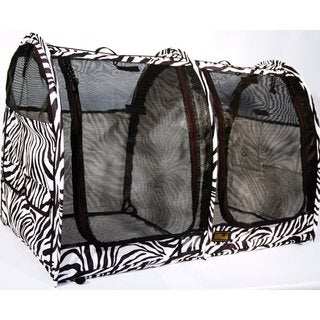 LE Pop-Up Kennel (Just Arrived)- Show Shelter Medium, Double, Mesh Doors