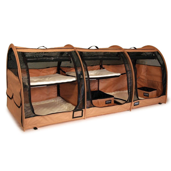 Triple Show Shelter - Earthy Tan - Sturdi Products - 1